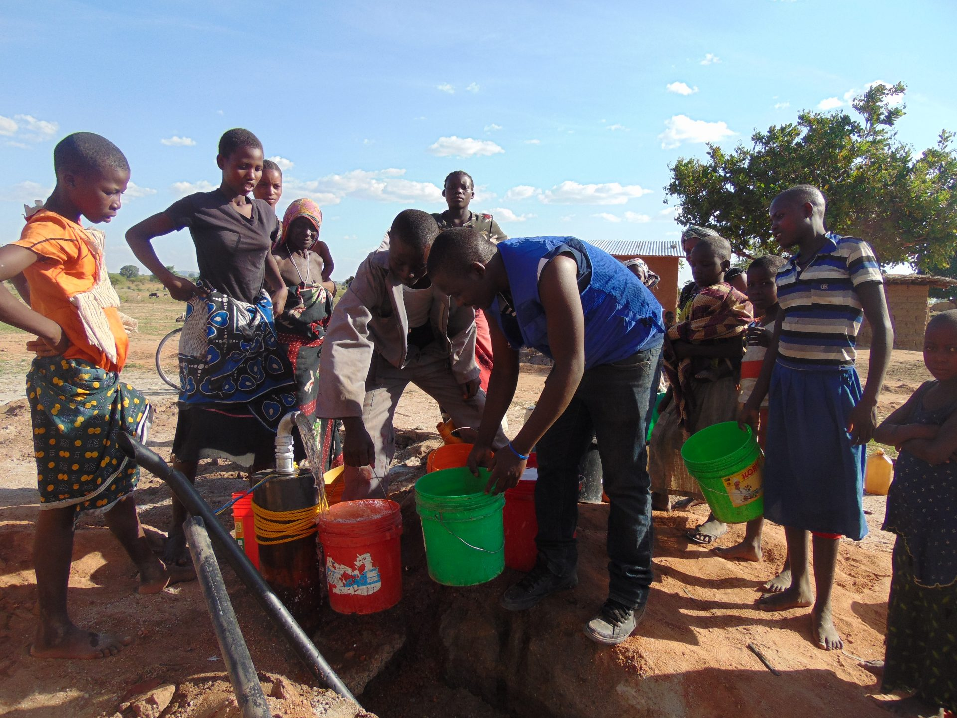 Boreholes-water supply